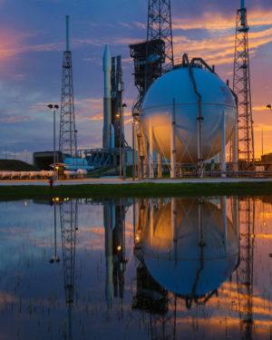 Atlas 5 připravený ke startu