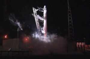 Start rakety Falcon9