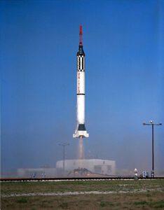 Start rakety s kosmickou lodí Mercury-Redstone 2