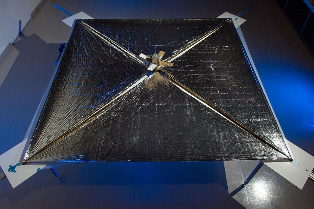 Solární plachetnice