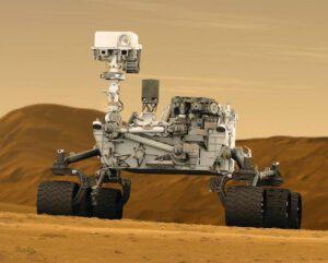 Vozítko Curiosity