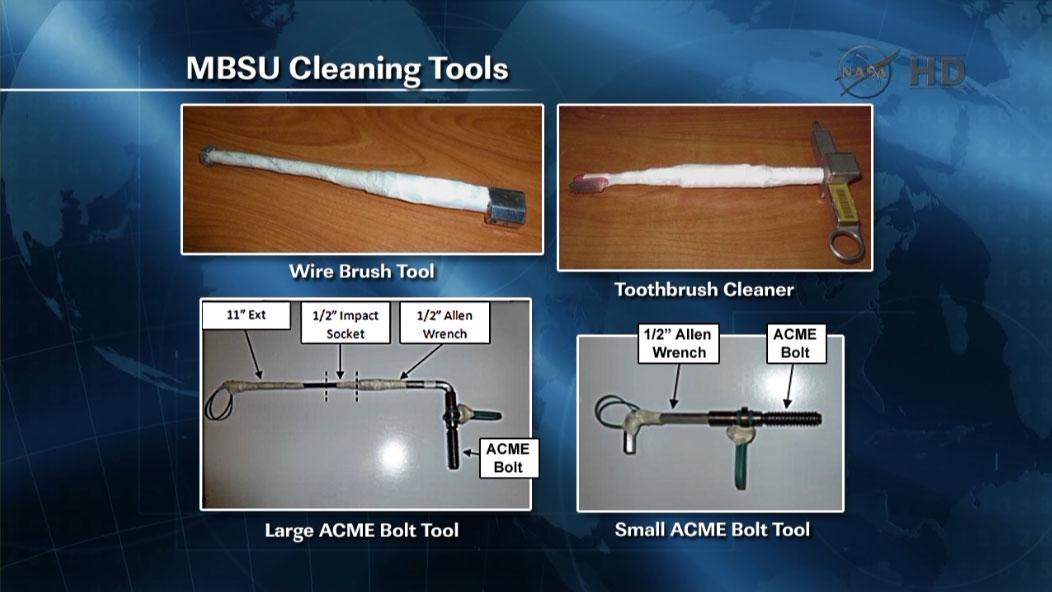 Improvizované nástroje pro vyřešení problému s trucujícím šroubem