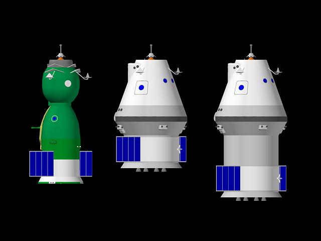 Varianty kosmické lodi