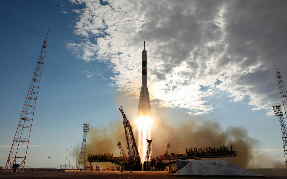Start lodi Sojuz TMA-04M