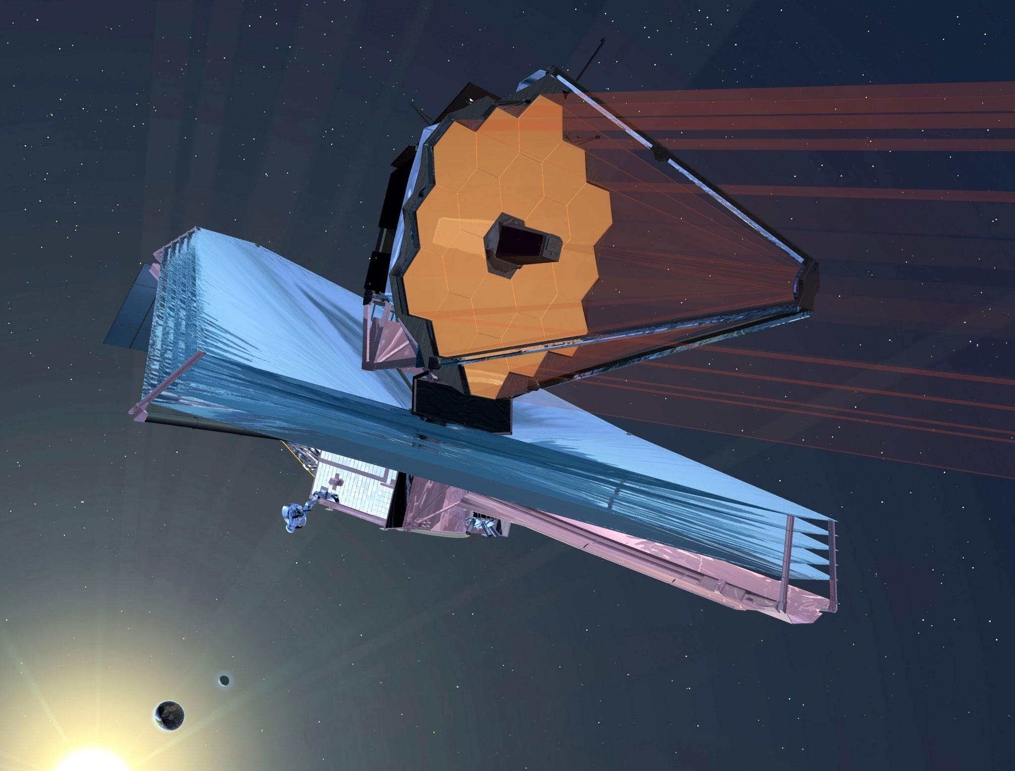Budoucí podoba dalekohledu Jamese Webba