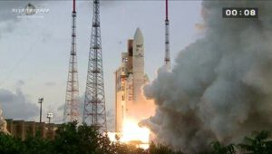 Start rakety Ariane 5