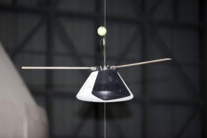 Model kapsle Orion s listy rotoru