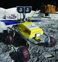Na povrch Měsíce mají zamířit různorodé stroje