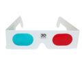 Červenomodré 3D brýle, které použijete pro prohlížení fotek