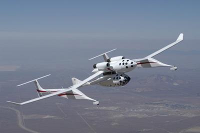SpaceShipOne - vítěz výzvy Ansari X-Prize