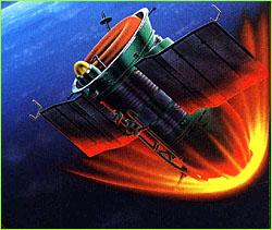 Malířova rekonstrukce dramatických momentů při návratu Sojuzu-5