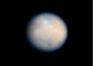 Trpasličí planeta Ceres - prozatím její nejkvalitnější snímek