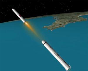 Start rakety Unha-3