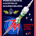 Logo kosmické lodi Sojuz TMA-07M