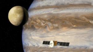 Sonda JUICE u planety Jupiter
