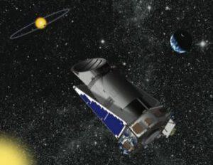 Kepler na oběžné dráze Slunce