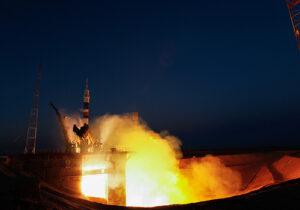 Start ruské rakety Sojuz