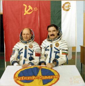 Čtvrtá posádka programu Interkosmos: Ruakvišnikov (vlevo) a Ivanov