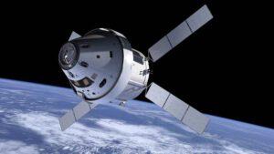 Takto by měl vypadat evropský servisní modul připojený k americké lodi Orion.