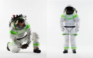 Takto by mohl vypadat nový skafandr pro americké astronauty