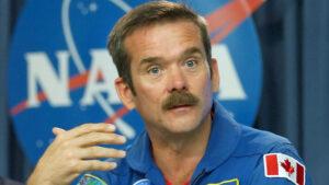Kanadský astronaut Christopher Hadfield
