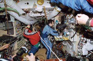 Pohled do základního modulu Miru