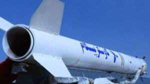 Raketa, která údajně vynesla opičího astronauta na sub-orbitální dráhu