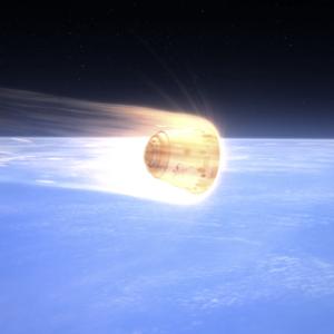 Tepelný štít PICA-X ochránil Dragona před spalujícím žárem při průchodu atmosférou.