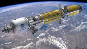 Dve lode ORion pripojené na vesmírnu loď. Aj takto možno bude vyzerať budúci planétolet. Pre predstavu, loď Orion pripojená spredu má priemer až 5,5 metra.