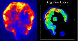 Supernova v souhvězdí Labutě