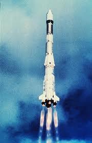 Raketa Ariane 1 pri štarte