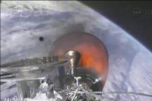 Motor druhého stupně rakety Falcon 9