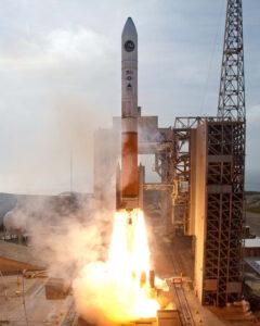 Raketa Delita IV Medium+(5,2) s vojenskou družicí NROL-25 krátce po startu