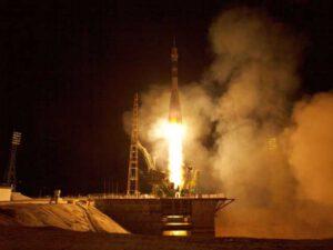Start rakety Sojuz