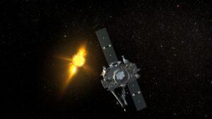 Sonda STEREO-B společně se svým dvojčetem STEREO-A dokáží kromě jiného pořizovat nádherné 3D snímky Slunce zdroj:nasa.gov