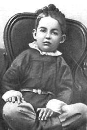 Pětiletý Konstantin Ciolkovskij