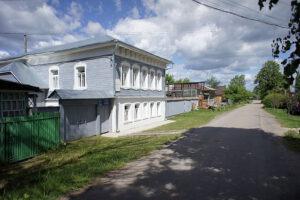 Ciolkovského dům v Borovsku