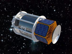 Příklad nákladu, který bude raketoplán vynášet