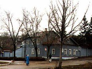 Dům v Kaluze- místo, kde Ciolkovskij položil teoretické základy kosmonautiky