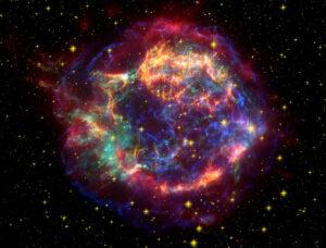 Keplerova supernova v plné kráse