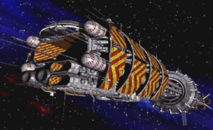 Vesmírna loď triedy Explorer zo seriálu Babylon 5