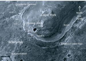 Oblasť Cape York odfotená družicou.