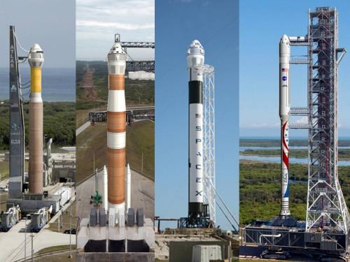 Rakety, které by mohly vynášet CST-100 zdroj:americaspace.com