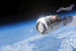 Kosmická loď Cygnus - při tomto startu ještě nepoletí. Na svou premiéru si počká do června, kdy zamíří k ISS.
