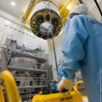 Kompletování obou modulů ATV-4 zdroj:esa.int