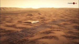 Idylická kolónia z projektu Mars One sa vybuduje z landerov Red Dragon.
