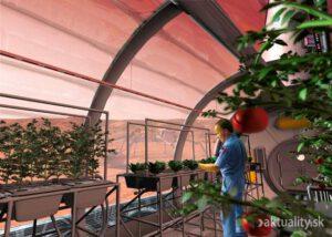 Vypestujeme si raz na Marse napríklad paradajky? No, raz určite. Ale počas nášho života sotva.