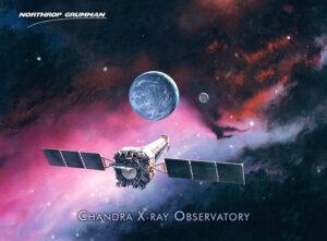 Ilustrace obsevatoře Chandra