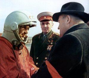 12. duben 1961- Gagarin se loučí s Koroljovem