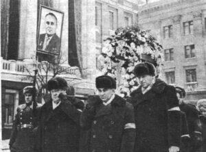 Koroljovův pohřeb 18. ledna 1966